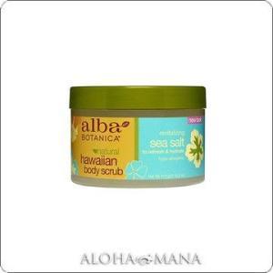 【在庫限り】Alba Botanica アルバボタニカ Sea Salt Body Scrub ハワイアン ボディスクラブSS シーソルト(410g) xzb1093|alohamana