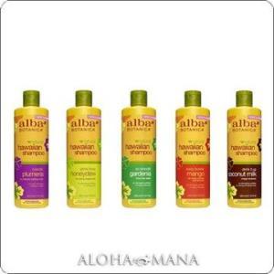 【在庫限り】Alba Botanica アルバボタニカ ハワイアン シャンプー プルメリア/ハニーデュー/ガーディニア/マンゴー/ココナッツミルク(355mL)xzh1094|alohamana