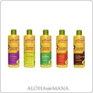 【在庫限り】Alba Botanica アルバボタニカ ハワイアン コンディショナー プルメリア/ハニーデュー/ガーディニア/マンゴー/ココナッツミルク(340g)xzh1095|alohamana
