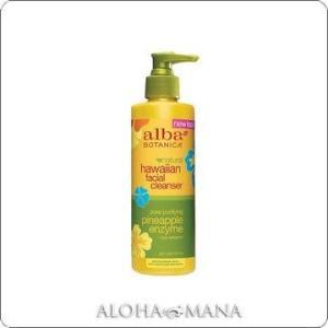 【完売】Alba Botanica アルバボタニカ Pineapple Enzyme Facial Cleanser ハワイアン フェイシャルジェルウォッシュPE パイナップル (235mL) xzs1084|alohamana