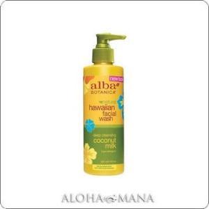 【完売】Alba Botanica アルバボタニカ Coconut Milk Facial Wash ハワイアン フェイシャルクレンジングミルクCM ココナッツミルク (235mL) xzs1085|alohamana