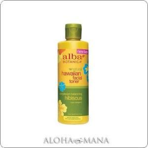 【在庫限り】Alba Botanica アルバボタニカ Hibiscus Facial Toner ハワイアン フェイシャルトナーHB ハイビスカス (250mL) xzs1087|alohamana