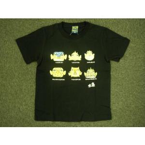 さかなくん 半袖プリントTシャツ ブラック alor21