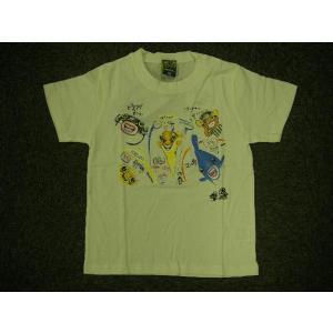 さかなくん 半袖プリントTシャツ ホワイト alor21