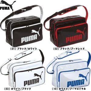 PUMA プーマ Ath Shiny タイプ B ショルダー L バッグ 066758【4色展開】|alor21