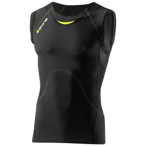 SKINS(スキンズ)コンプレッション メンズ スリーブレストップシャツ A400 ACTIVE B40001003D|alor21