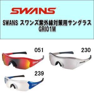 【送料無料】SWANS(スワンズ)  紫外線対策用サングラス(GRI01M)プロゴルファーの石川遼選手も愛用!!|alor21