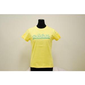 ADIDAS アディダス レディース リニアロゴ プリントTシャツ c7945 alor21