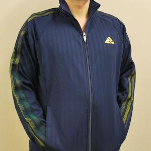 【送料無料】【即納可能】ADIDAS アディダス トレーニング ジャケット H3690 ネイビーXサンシャイン|alor21