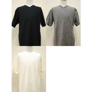 HEAVENS KNOW Vネック ワッフルTシャツ【全3色】 alor21