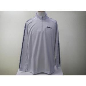 Wilson ウィルソン ハーフジップシャツ WLR542S グレー|alor21