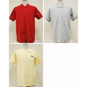 【送料無料】【即納可能】FILA フィラ 半袖ポロシャツ ボタンタイプ【全3色】|alor21