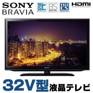 中古 SONY BRAVIA KDL-32EX550 32V型 液晶テレビ ブラック 地上デジタル BSデジタル 110度CSデジタル HDMI 純正リモコン・B-CASカード付属|alpaca-pc