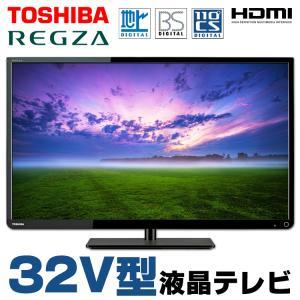 液晶テレビ 中古 本体 東芝 REGZA 32S7 32V型 ブラック 地上デジタル BSデジタル 110度CSデジタル HDMI 純正リモコン・B-CASカード|alpaca-pc