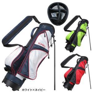 イグニオ IGNIO メンズ ゴルフ ハーフスタンド キャディーバッグ 7型 IG-0B1014ST...