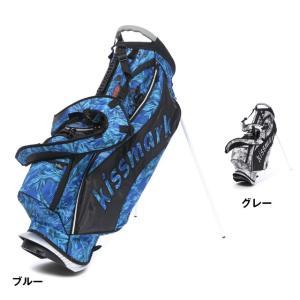 キスマーク KM-0C027STCB スタンド式 キャディバッグ メンズ ゴルフ kissmark|alpen-group