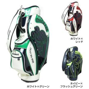 キスマーク kissmark KM-0C045 キャディバッグ 9型 メンズ ゴルフ golf5|alpen-group