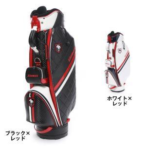 キスマーク KM-0C007CB キャディバッグ メンズ ゴルフ kissmark|alpen-group