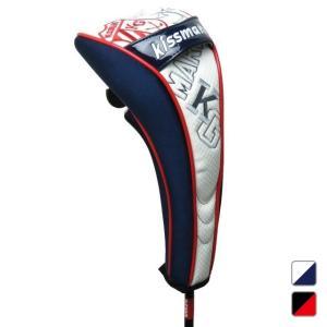キスマーク kissmark KM-0H035HCFW ヘッドカバー マグネット式 フェアウェイウッド用 メンズ ゴルフ golf5|alpen-group