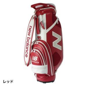 ニューバランス Nモチーフ バイカラー キャディバッグ 0128980002 ゴルフ New Balance キャディーバッグ