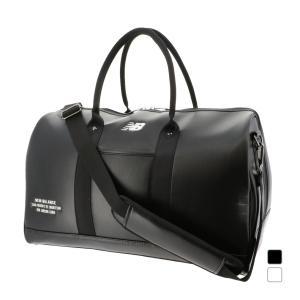 ニューバランス シンセティックレザーボストンバッグ 0121981006 ショルダーバックとしても使用可 メンズ ゴルフ ボストンバッグ New Balance|アルペン PayPayモール店