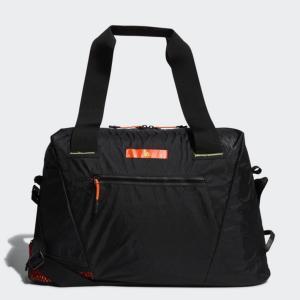 アディダス コードカオス ボストンバッグ GUV67 シューズインポケット 止水ファスナー メンズ ゴルフ ボストンバッグ : ブラック×イエロー adidas|アルペン PayPayモール店
