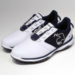 ルコックゴルフ ゴルフシューズ QQ2SJA01 ヒールにダイヤルを装着 メンズ ゴルフ ダイヤル式...