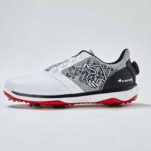 ルコックゴルフ ゴルフシューズ QQ2SJA02 ヒールにダイヤルを装着 メンズ ゴルフ ダイヤル式...
