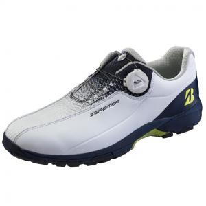ブリヂストン ゴルフシューズ ゼロスパイクバイターライト2 SHG150 メンズ ゴルフ ダイヤル式...