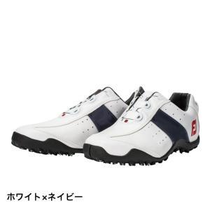 フットジョイ ゴルフシューズ 3E 18 EXL SL ボア WT NV 45181 メンズ ゴルフ...