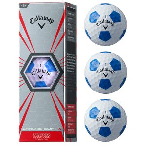 キャロウェイ CHROME SOFT X TRUVISモデル ゴルフボール クロムソフト 公認球 3個入 Callaway