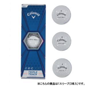 キャロウェイ / ゴルフボール / Callaway(キャロウェイ)ゴルフ ボール BL CG ERC SOFT 19 TRIPLE TRACK 3B PK JV 6427256030044の商品画像|ナビ