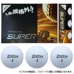 トブンダ TOBUNDA 2016年モデル TOBUNDA SUPER-D スーパーディー ゴルフ ボール 1スリーブ 3個入 :ホワイト golf5|alpen-group