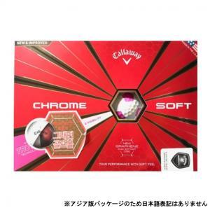 キャロウェイ CHROME SOFT クロムソフト TRUVIS シェブ アジア版パッケージ 488...