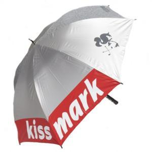 キスマーク アンブレラ KM-0U415 晴雨兼用 UVカット パラソル golf5 kissmark|alpen-group