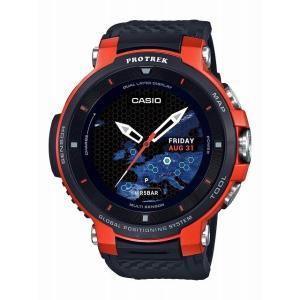 カシオ プロトレック スマート WSD-F30-RG GPS 距離測定器 ゴルフ オレンジ PRO ...