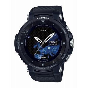 カシオ プロトレック スマート (WSD-F30-BK)GPS : ブラック PRO TREK 時計 型(GPSナビ ナビ golf)(距離計測器 距離計測 距離計 距離測定 距離測定器)