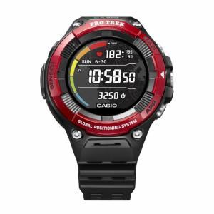 カシオ プロトレック WSD-F21HR-RD F21HR レッド ゴルフ GPS 距離測定器 心拍...
