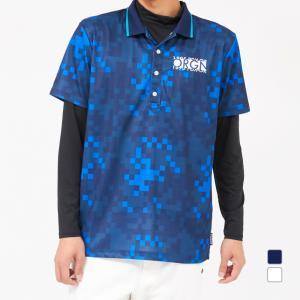 キスマーク ゴルフウェア セットシャツ KM-1L1500RYP メンズ kissmark|アルペン PayPayモール店
