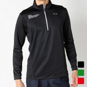 オークリー ゴルフ 長袖 モックシャツ SKULL PLEASANT LS MOCK 434485J...