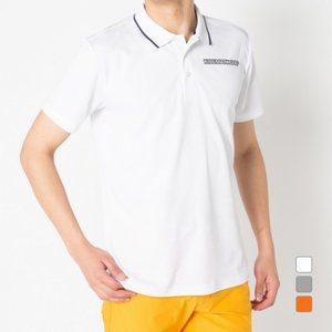 キスマーク ゴルフウェア 半袖 総柄ポロシャツ KM-1H1000P  メンズ kissmark|アルペン PayPayモール店