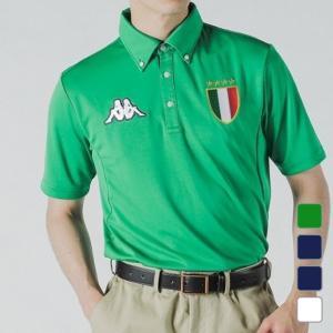 カッパ ◇大型のワッペンを両胸に配置したシンプルなボタンダウンシャツ。 ■アルペンカラー(メーカーカ...