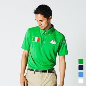 カッパ ◇アルペン別注モデル ◇Kappaを象徴するオミニマークの刺繍を施したボタンダウンシャツ。 ...