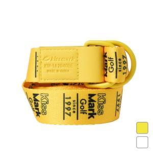キスマーク レディース ゴルフ グログランテープベルト KM-1A2040BE kissmark|アルペン PayPayモール店
