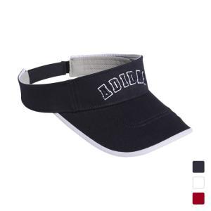 アディダス レディース ゴルフ サンバイザー 帽子 ADICROSS ツイルバイザー XA855 a...