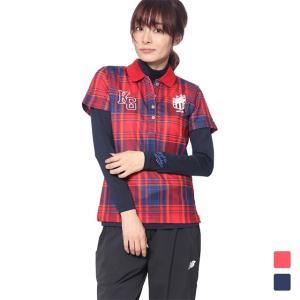 キスマーク レディース ゴルフ セットシャツ KM-1L2408RYP kissmark|alpen-group