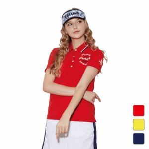 キスマーク レディース ゴルフウェア 吸水速乾性 半袖シャツ KM-1H2000P  kissmark|アルペン PayPayモール店