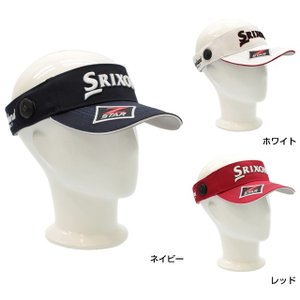 SRIXON スリクソン メンズ ゴルフ 帽子 サンバイザー...