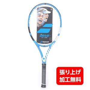 バボラ ピュア ドライブ チーム BF101339 硬式テニスラケット 未張り : ブルー×ホワイト...