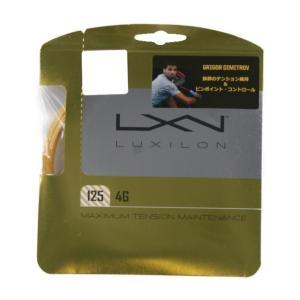 ルキシロン 4G 125 WRZ997110 硬式テニス ストリング LUXILON